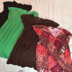 BUNDLE OF 4 DRESSES